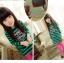 ชุดเดรสแฟชั่นเด็ก ลายริ้วสีเขียว-ดำ น่ารักสไตล์เกาหลี thumbnail 1