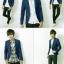 เสื้อสูท แฟชั่นเกาหลี แบบบาง#01 [พรีออเดอร์] thumbnail 2