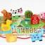 ของเล่นเสริมพัฒนาการ ร้อยเชือกลูกปัดไม้ฟาร์มสัตว์ 12 ชิ้น thumbnail 1