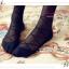 WL017 ถุงน่องแบบเต็มตัว ลายจุด ช่วงข้อเท้ามีลายเชือกพันผูกโบว์ มี 2 สี ขาว ดำ thumbnail 22