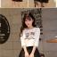 ชุดเสื้อยืดพิมพ์ลายนกฮูก คู่กระโปรง thumbnail 5