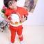 Huanshu kids ชุดเซ็ทเด็ก เสื้อแขนยาวคอกลม + กางเกงขายาว สไตล์เกาหลี ขนาด100,110 thumbnail 1