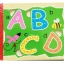 ของเล่นเสริมพัฒนาการ หนังสือไม้จิ้กซอว์ ABC thumbnail 1