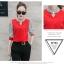 ชุดแฟชั่น เสื้อ ชีฟอง คู่ กางเกง สไตล์เกาหลี 3 set thumbnail 6