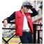 ชุดเสื้อแจ็คเก็ต-กางเกงขายาว : สีแดง - น้ำเงิน รุ่น KOMA ST0004 thumbnail 2