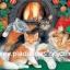 กระดาษสาพิมพ์ลาย สำหรับทำงาน เดคูพาจ Decoupage แนวภาพ แม่แมว 1 กับลูกแมว 4 นอนกอดกันเพื่อไออุ่นใกล้เตาผิง thumbnail 1