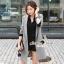 Seoul Secret Autumn Winter Gray Outer Suit เสื้อสูททรงเรียบหรู เนื้อผ้าคอตตอนสีเทาขึ้นทรงสวยอย่างดีค่ะ สีสวยดูคลาสสิก อินเทรน mix & match ได้หลายแบบเลยค่ะ งานตัดเย็บสวยใส่ทำงานเหมาะมากค่ะ thumbnail 1