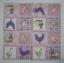 แนวภาพสัตว์ ไก่กระต่ายเป็ดในกรอบลายแต่ง เป็นภาพ 4 บล๊อค ภาพโทนสีชมพู กระดาษแนพกิ้นสำหรับทำงาน เดคูพาจ Decoupage Paper Napkins ขนาด 33X33cm thumbnail 2
