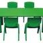 โต๊ะสี่เหลี่ยมผืนผ้า SIZE:60X120X55 cm. thumbnail 1