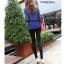 LG016 กางเกงเลคกิ้งขายาว ประดับด้วยลายน่ารัก มี 12 ลาย thumbnail 42