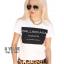 เสื้อยืดตัวใหญ่ สกรีนลาย ballinciaga harem t-shirt ผ้าคอตตอนเนื้อดีใสสบายค่ะ มา 2 สี ขาวและดำ thumbnail 2