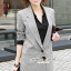 Seoul Secret Autumn Winter Gray Outer Suit เสื้อสูททรงเรียบหรู เนื้อผ้าคอตตอนสีเทาขึ้นทรงสวยอย่างดีค่ะ สีสวยดูคลาสสิก อินเทรน mix & match ได้หลายแบบเลยค่ะ งานตัดเย็บสวยใส่ทำงานเหมาะมากค่ะ thumbnail 2