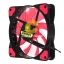 FAN CASE '12cm' Nubwo Airforce Red LED thumbnail 2