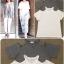 หมดค่ะ:เสื้อคอวี เว้าไหล่ ผ้าสลาฟ ยืดเยอะค่ะ งานสไตล์ Korea ตามนางแบบใส่ แมตช์กับกางเกงยีนส์น่ารักมาก แพทเทิร์นเรียบ ดูดี ใส่ได้นานค่ะ thumbnail 1
