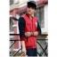 ชุดเสื้อแจ็คเก็ต-กางเกงขายาว : สีแดง - น้ำเงิน รุ่น KOMA ST0004 thumbnail 3