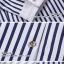 เสื้อเชิ๊ต ลายตรง แฟชั่นเกาหลี เสื้อผ้าทอม[Pre-Order] thumbnail 4