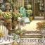 กระดาษสาพิมพ์ลาย สำหรับทำงาน เดคูพาจ Rice paper Decoupage แนวภาพ บ้านและสวน เก้าอี้ในสวนหน้าบ้าน ภาพแนวนอน by Pladao Design Handmade thumbnail 2